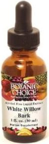 Botanic Choice White Willow Bark Liquid Extract (1 oz)