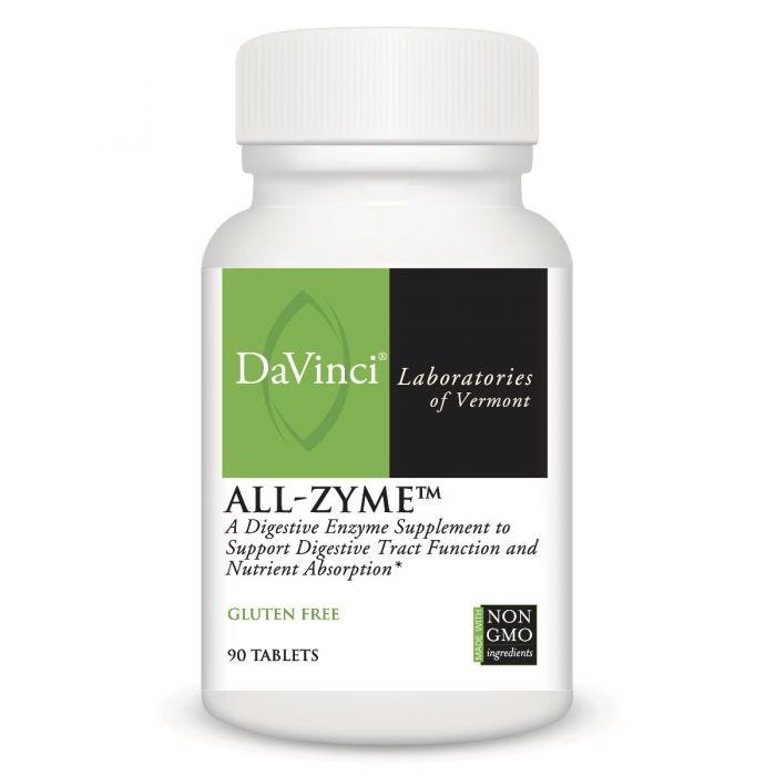 DaVinci All-Zyme Superior Enzymes (90 tabs)