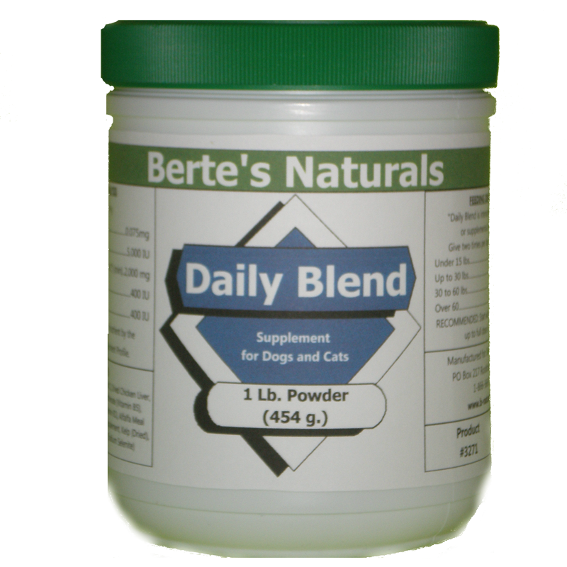Berte's Daily Blend Vitamins for Dogs (1 lb)