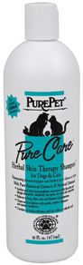 Pure Pet Pure Care Herbal Skin Therapy Shampoo (16 oz)